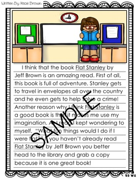 Wonders Writing and Grammar 1st Grade Unit 3 Week 2