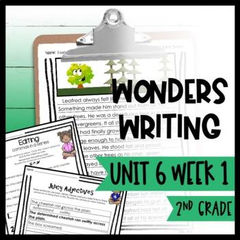 Wonders Writing and Grammar 2nd Grade Unit 6 Week 1