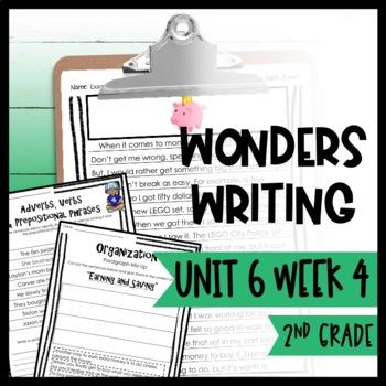 Wonders Writing and Grammar 2nd Grade Unit 6 Week 4
