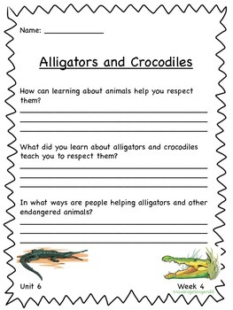 Free Wonders for 3rd Grade: Unit 6 Essential Questions on Themed Paper