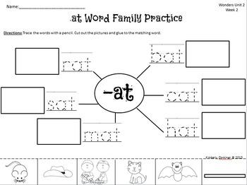 Wonders Reading for Kindergarten: Unit 2 Week 2 Extension Activities