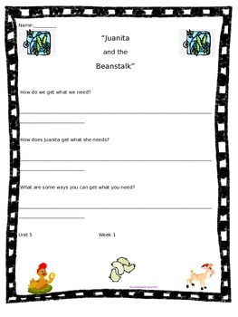 Wonders for 3rd Grade Plus Bulletin Board Clip Art: Unit 5 Essential Questions