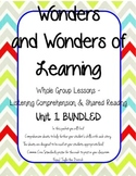 Wonders of Learning - Unit 1 BUNDLED - Reading Comprehensi