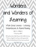 Wonders of Learning - Unit 1, Week 2- Reading Comp Skills - 1st grade