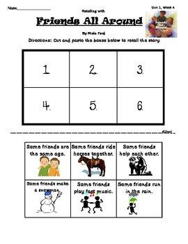 Wonders of Learning - Unit 1, Week 4 Reading Comp - 1st grade