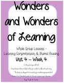 Wonders of Learning - Unit 4, Week 4 - Reading Comprehension