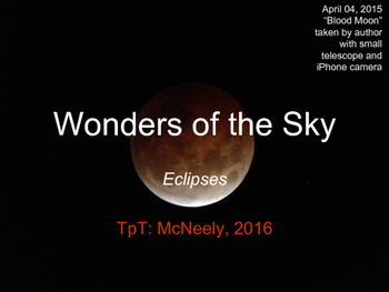 Wonders of the Sky Teaching Slides: Eclipses