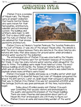 Wonders of the World: Chichen Itza