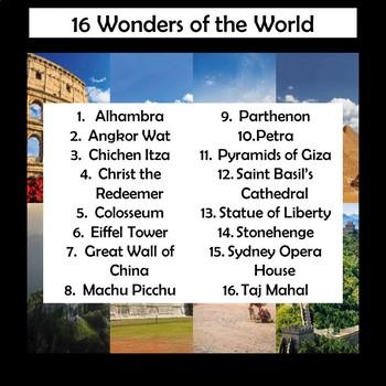 Wonders of the World Interactive Fan