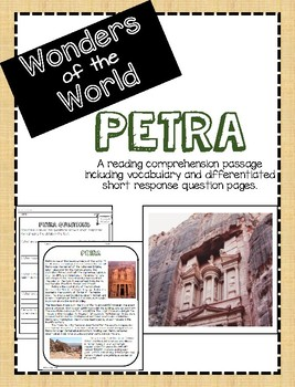 Wonders of the World: Petra