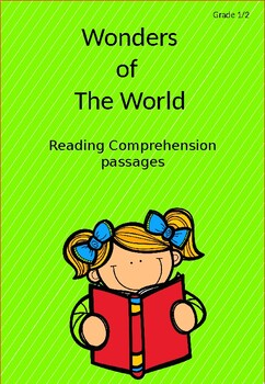 Wonders of the World Reading Comprehension Passages