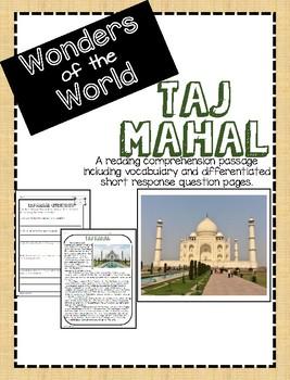 Wonders of the World: Taj Mahal