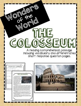 Wonders of the World: The Colosseum