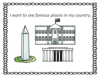 Famous places I want to visit writing response Wonders Unit 8, Week 2