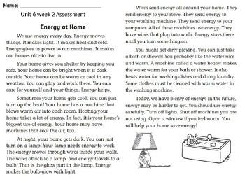 Wonders unit 6 week 2 assessment