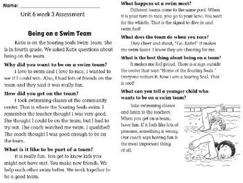 Wonders unit 6 week 3 assessment