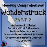 Wonderstruck Novel Part 2 Assessment Questions LEAP PARCC Test