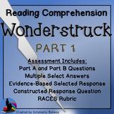 Wonderstruck Novel Part 1 Assessment Questions LEAP PARCC Test
