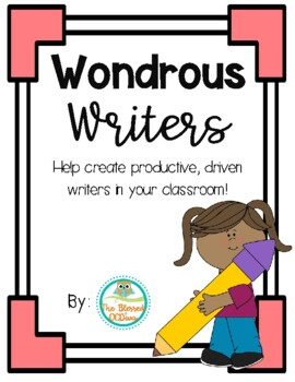 Wondrous Writers- Growing Bundle!