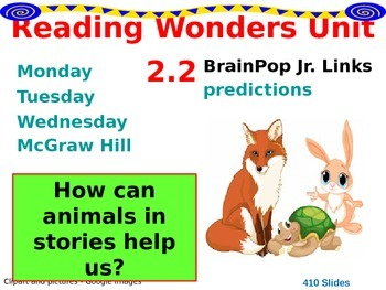 Wonders Reading Second Grade Power Point Unit 2.2