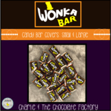 Wonka Bar Wrappers {Charlie and The Chocolate Factory}