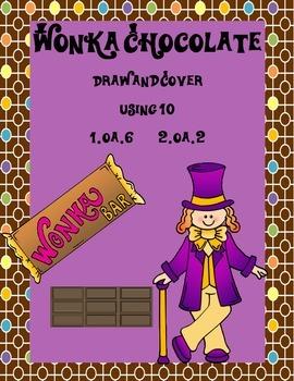 Wonka Chocolate Using 10 Addition Game 1.OA.6 2.OA.2