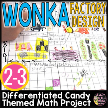 Wonka Factory Floor Design Measurement Project {2 Differentiated Versions}