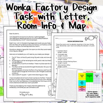 Wonka Factory Floor Design Measurement Project {2 Differentiated Versions}