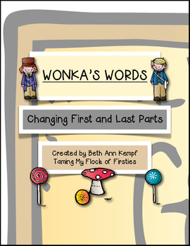 Wonka's Words - Changing First and Last Parts of Words (S words)