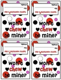 Won't Chew Be Mine? Valentine Gift Tag Bag