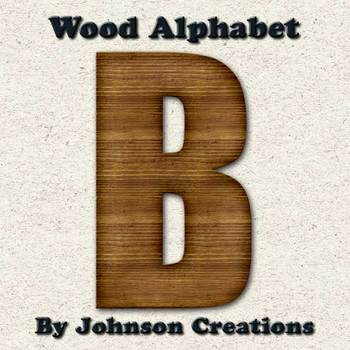 Wood Alphabet by Johnson Creations