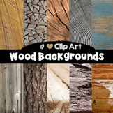 Wood Backgrounds - Digital Papers