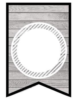 Wood Banner - Blank