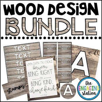 Wood Design Decor BUNDLE