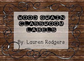 Camping Classroom Labels