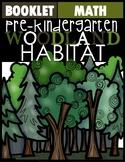 Wood Land Animal Booklet
