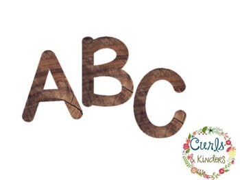 Wood Letters