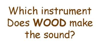 Wood, Metal, Animal Skin lesson
