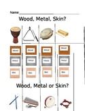 Wood, Metal Skin Quiz