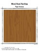 Wood Panel Paint Project (Art Craft)