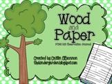 Wood & Paper Observation Journal {FOSS}