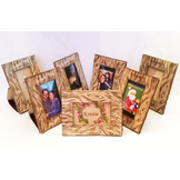Wood Print Tabletop Picture Frame For 2x3 Photo Printable Download