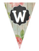 Wood Rose & Chalk PENNANTS * Welcome and Core Subjects