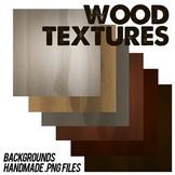 Wood Texture Scrapbook Backgrounds