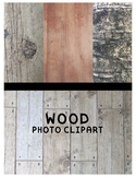 Wood Textured Clipart (For Personal or Commercial Use)