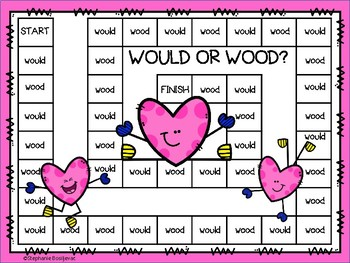 Wood or Would (Homophones)