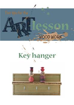 Wood work - Key hanger