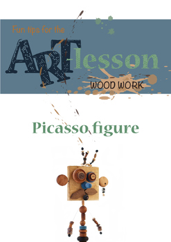 Wood work - Picasso figure