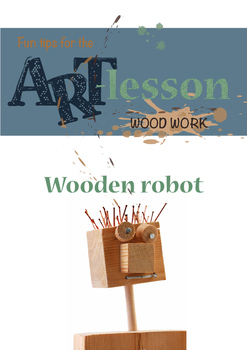 Wood work - Wooden robot