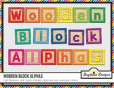 Wooden Block Alphabet Value Pack {Colors}